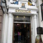 Twinings tea entrance, London