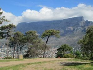 Table Mountain with tablecloth