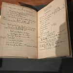 Ira Gershwin's lyric notebook, Library of Congress